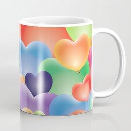 Valentine Balloon Hearts Coffee Mug