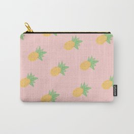 Pineapple - Light Pink Carry-All Pouch