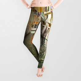 A Gondola Ride through Venice Leggings
