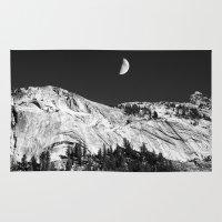 yosemite Area & Throw Rugs featuring Yosemite by Claude Gariepy