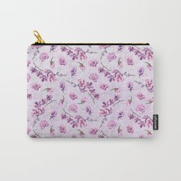 Branches with Purple Orchids Carry-All Pouch