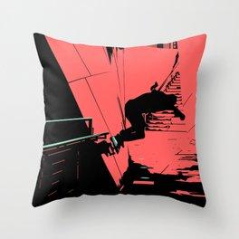 S. K. 08 Throw Pillow