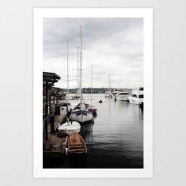 South Lake Union Art Print