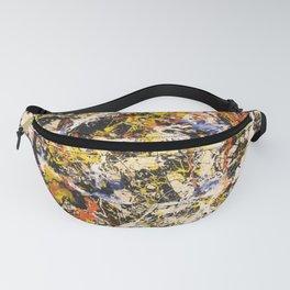 Jackson Pollock--- Convergence Fanny Pack