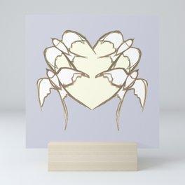 s1 heart Mini Art Print