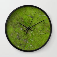 moss Wall Clocks featuring Moss by aeolia