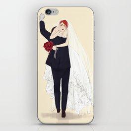 BuckyNat Wedding iPhone Skin