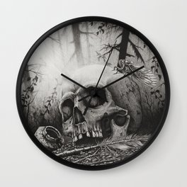 A Distance Silence Wall Clock