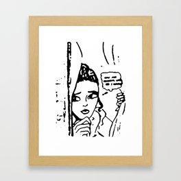 Girl II Framed Art Print