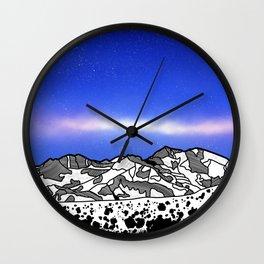 Mount Snowdon Wales Wall Clock