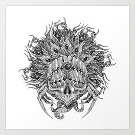 Gorgon Mandala Art Print