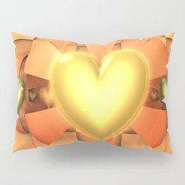 Hearts & Bows Pillow Sham
