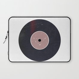 Vinyl Record Star Sign Art | Capricorn Laptop Sleeve
