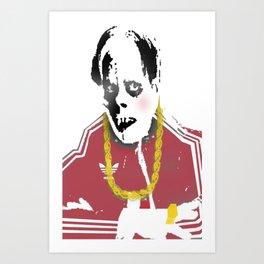 MC Phant Art Print