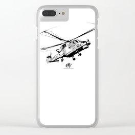 Wildcat Clear iPhone Case