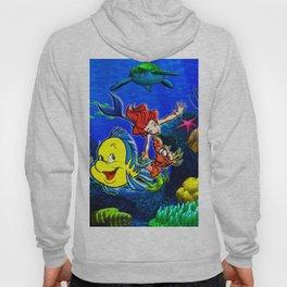 Mermaid love Hoody