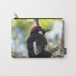 Acorn Woodpecker in Malibu Carry-All Pouch