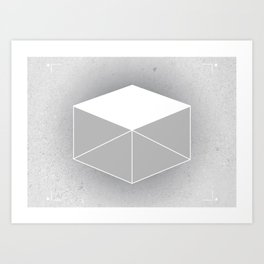 Winter Box Art Print
