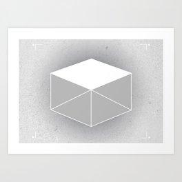 Winter Box Art Print