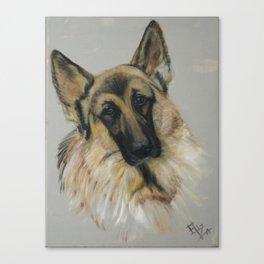 German shepard Canvas Print