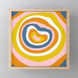 Antelope Canyon Stripes Framed Mini Art Print