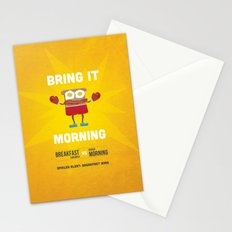 Bring It Morning Stationery Cards