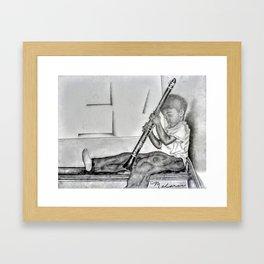 Practice Time Framed Art Print