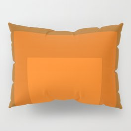 Block Colors - Orange Pillow Sham
