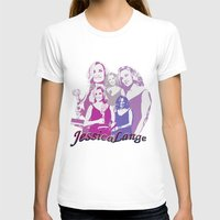 jessica lange T-shirts featuring Jessica Lange - Emmys 2014 by BeeJL