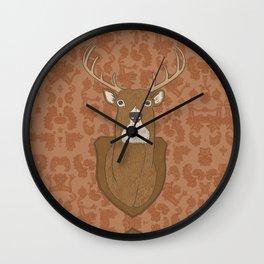 Regal Stag Wall Clock