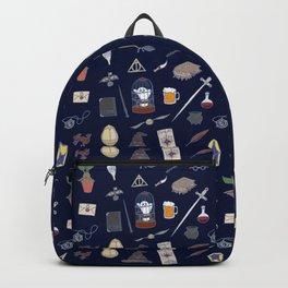 Harry Pattern Night Backpack