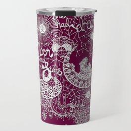 Moon and Stars Hand-Cut Papercut Travel Mug