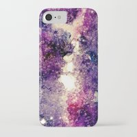 takmaj iPhone & iPod Cases featuring watercolor galaxy by takmaj