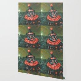 Black Cat Clown Wallpaper