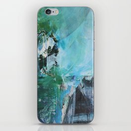 loose yourself in the woods iPhone Skin