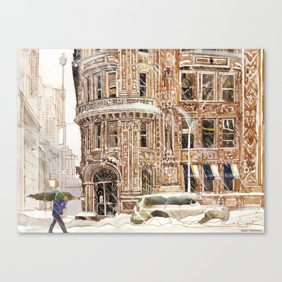 Winter in NYC Canvas Print