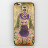 alien iPhone & iPod Skins featuring Alien by CLE.ArT.