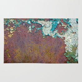 Paint mosaic Rug