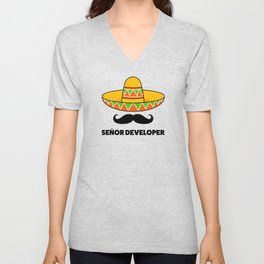Senior Developer Unisex V-Neck