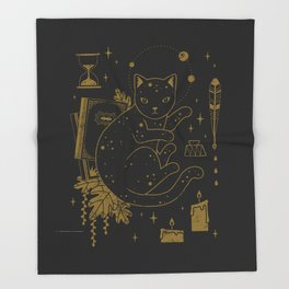 Magical Assistant Throw Blanket