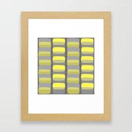 Cobblestones At Dusk Framed Art Print