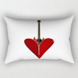 Love Guitar Rectangular Pillow