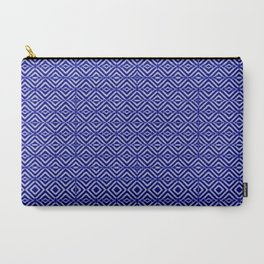Royal Geometric Carry-All Pouch