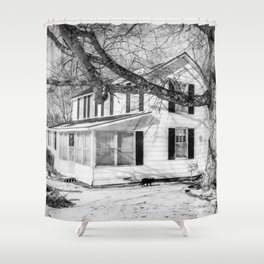 Grandmas House Shower Curtain