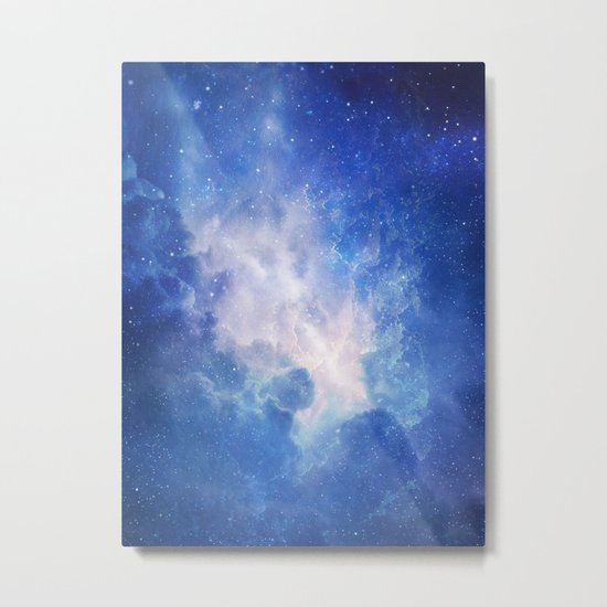The Universe Calling Metal Print
