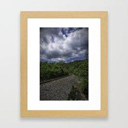 West Virginia Railroad Framed Art Print