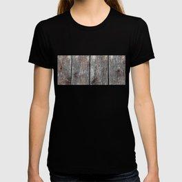 Wood grain II landscape T-shirt