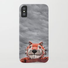 The Eye of the Tiger Slim Case iPhone X