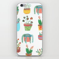 plants iPhone & iPod Skins featuring Plants. by Elga Libano