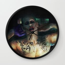 The Joker (Jared Leto) Wall Clock